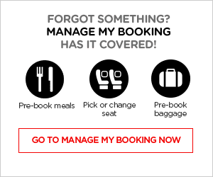 Forgot something? Manage My Booking has it covered!