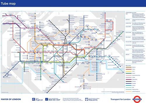 Screengrab of Tube Map at 28th Feb 2011