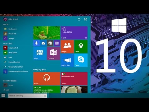 What to expect form the Windows 10 - video preview