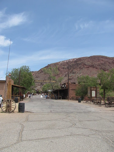 Entrance to Calico