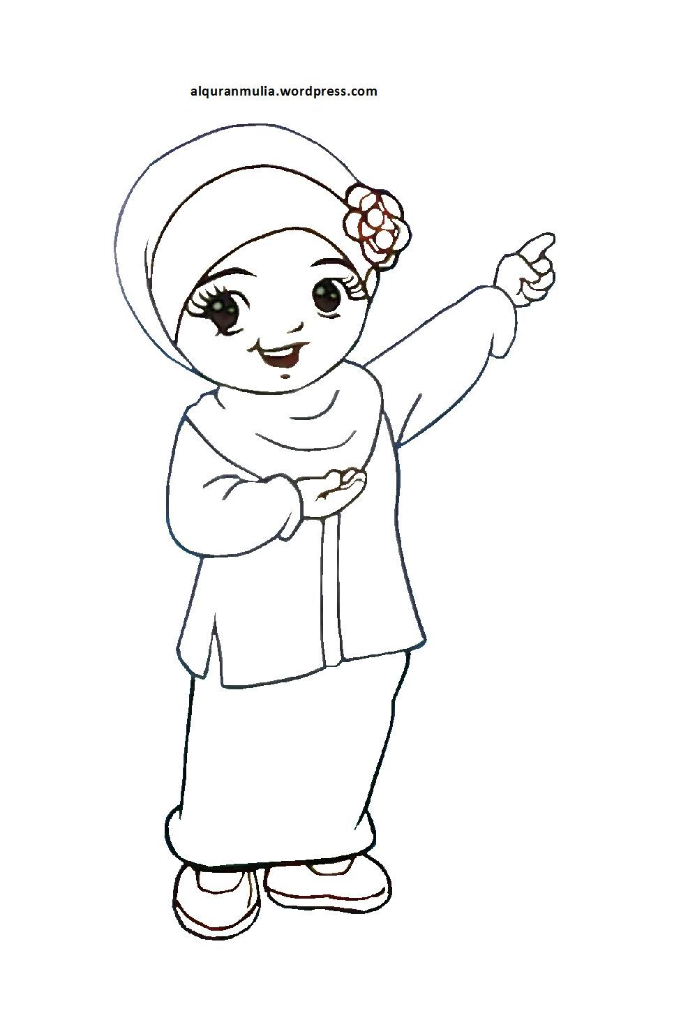 Kartun Islam Gif Gambar Kartun