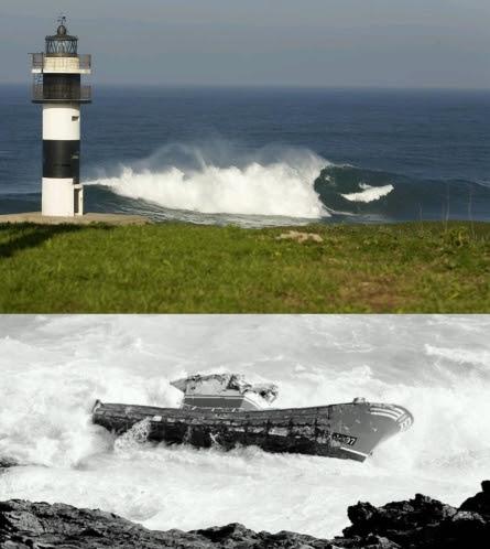 Isla Pancha, naufragio y muerte de tres pescadores, billagon xxl Ibon Amatriain y adur letamendia
