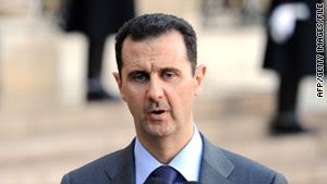 Syrian President Bashar al-Assad is granting amnesty to protesters charged with crimes, state-run TV reports.