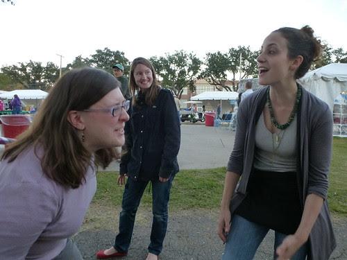 Ivy Johnson, Madeline Kawanaka, Laura d'Arcangelo, Shreveport by trudeau