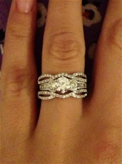 Three Stone Diamond Ring Enhancer   Wedding, Promise