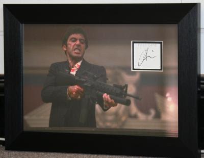 Al Pacino Signed Scarface Autograph Loft