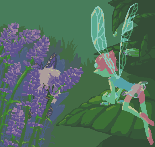 The blossom fairy and dewdrop fairy…