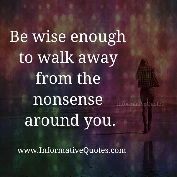 How Do You Walk Away