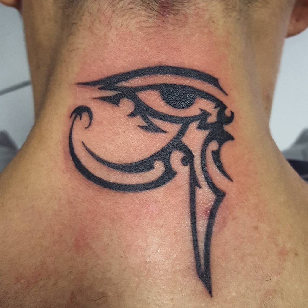 45 Best Eye Of Ra Tattoos Designs Meanings Sun God Horus 2019