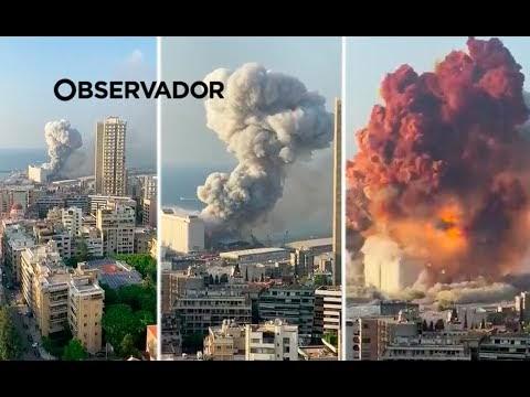 Explosão em Beirute!