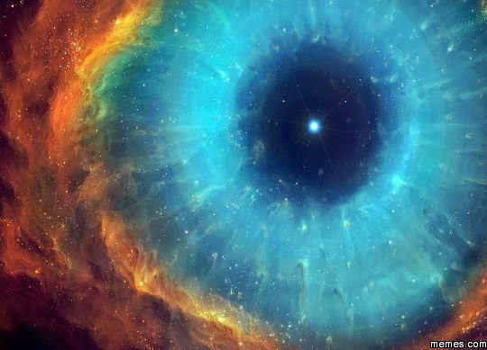 Image result for eye compared to cosmos