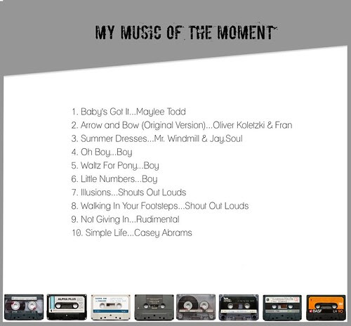 My Music of the Moment March 1, 2013