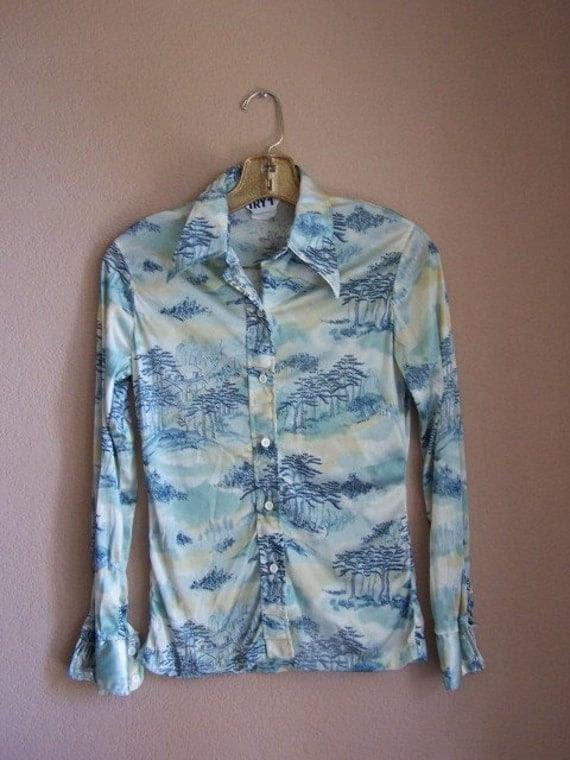 Vintage Japanese Woodland Shirt SALE