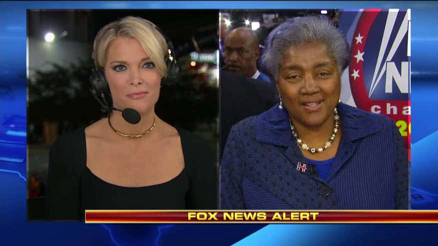 Image result for Interim DNC boss Brazile denies receiving question before March town hall