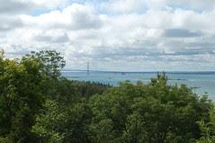 View of Mackinac Bridge