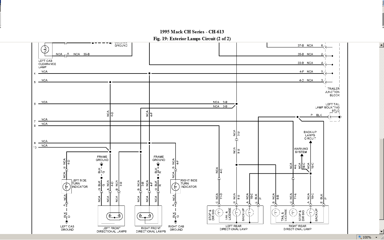 Wiring Diagram  30 Mack Cxu613 Fuse Diagram