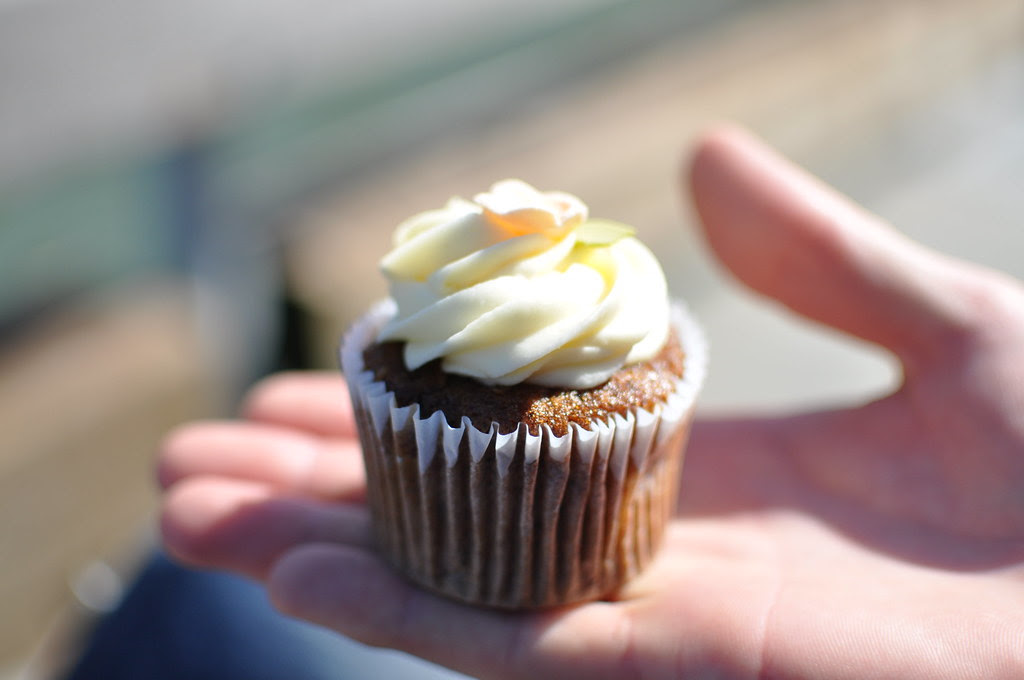 carrot cupcake from miette