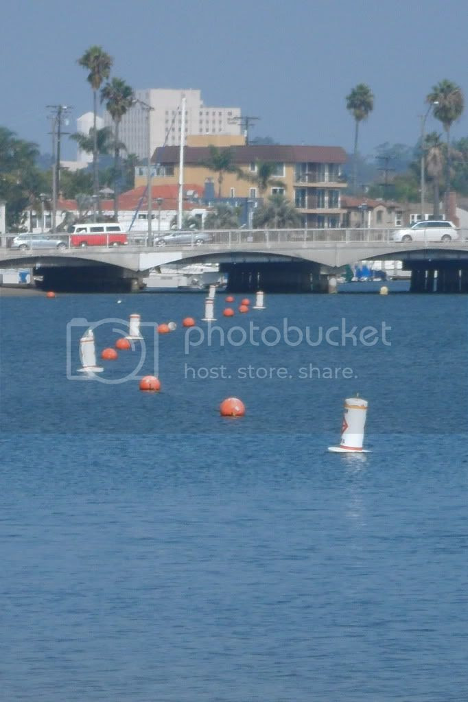 Belmont Shore: Buoys & Bridge