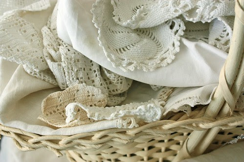 basket of cutter linens