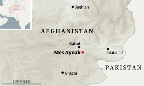 Mes Aynak in Afghanistan