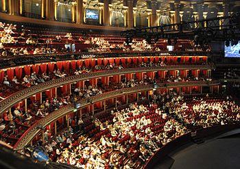 London, Royal Albert Hall interior