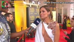 Diana Chaves super sensual nos Globos Ouro 2019