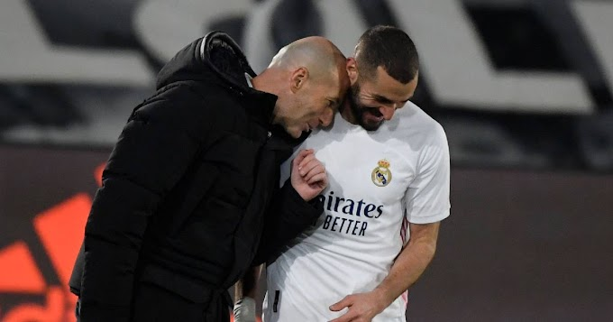 Zidane: 'For me, Benzema is the best French striker in history'