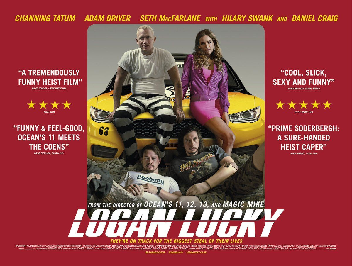 Logan Lucky Quad Poster Πόστερ