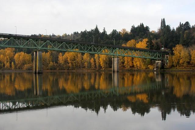 Autumn, Sellwood Bridge