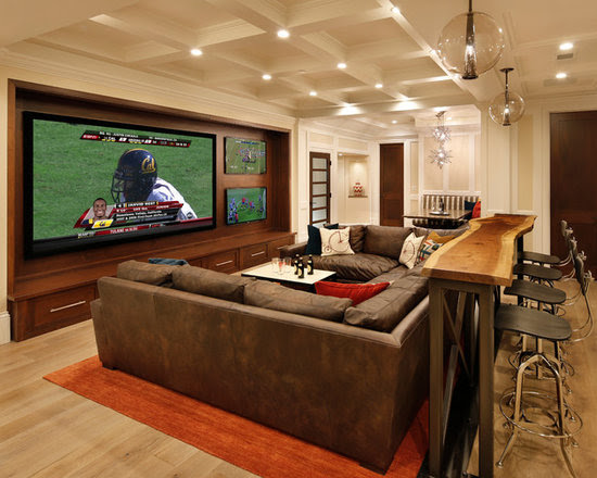 Media Room Design Ideas, Pictures, Remodel and Decor