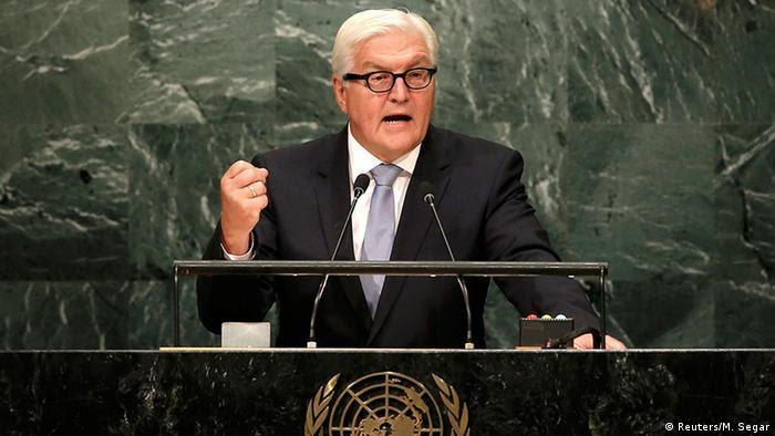 Steinmeier pidió a Rusia que utilice su influencia sobre Al Assad para imponer un alto el fuego
