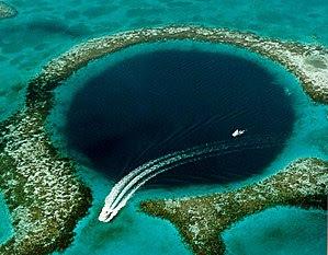 Great Blue Hole, Coast of Belize