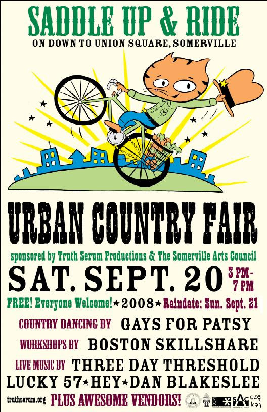 urban country fair on SAT 9/20