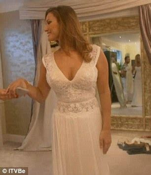 Sam Faiers tries on wedding dresses BEFORE getting engaged