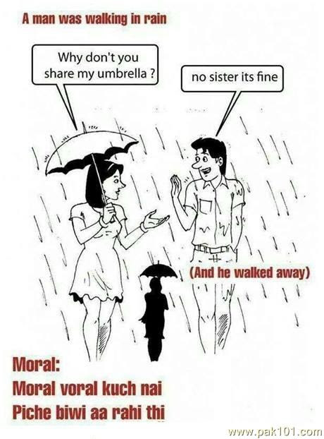 Funny Picture One Rainy Day Pak101com