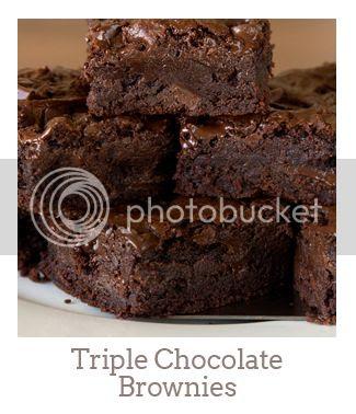 """""""Triple Chocolate Brownies"""""""