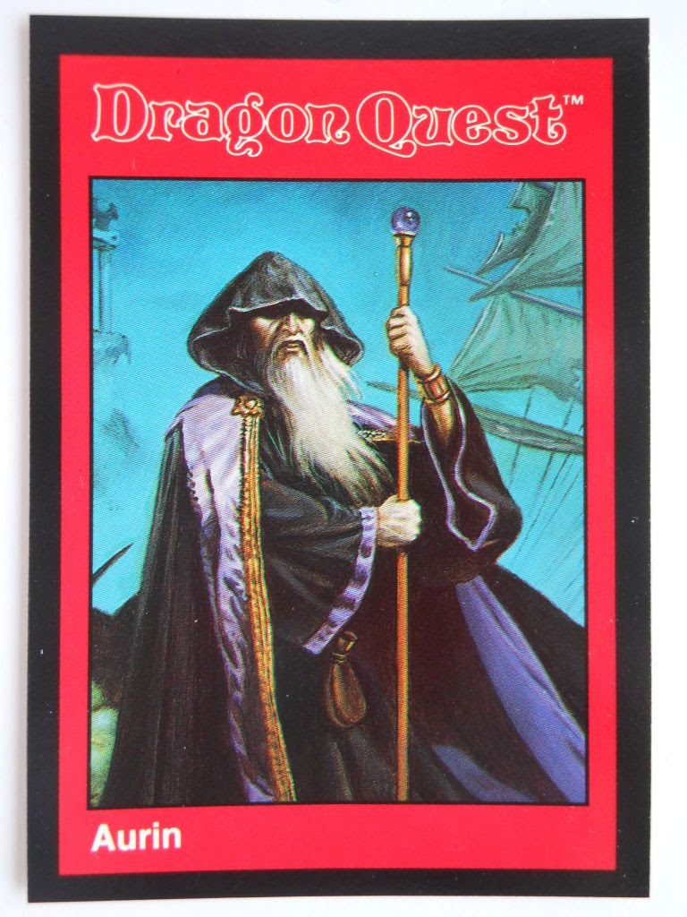 Dragon Quest wizard character card