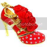 Handmade Crystal Shoes