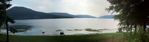 Tennessee river and nick-a-jack reservoir panorama