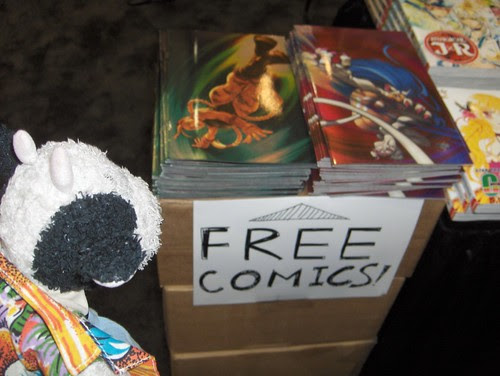 Comics for nothing? I have nothing!