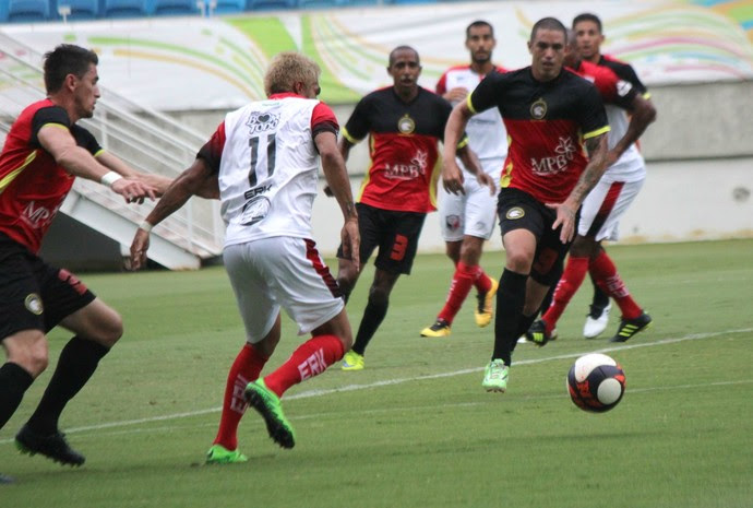 Santa Cruz de Natal x Globo FC, na Arena das Dunas (Foto: Diego Simonetti/Santa Cruz de Natal)