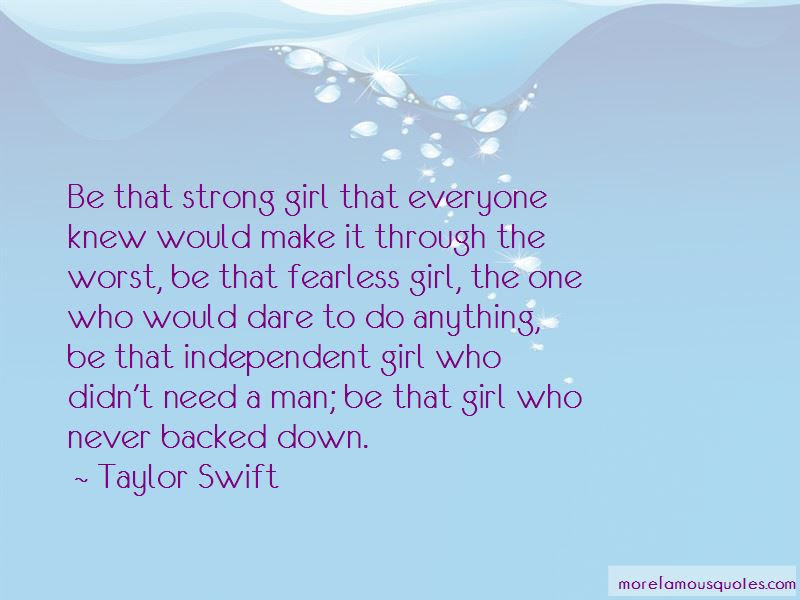 Quotes About Fearless Girl Top 9 Fearless Girl Quotes From Famous