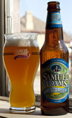 Review: Sam Adams Spring Lager by Cody La Bière