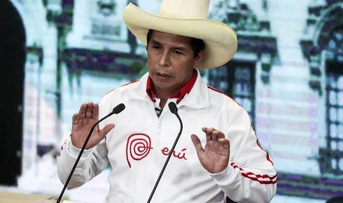 ELECCIONES EN PERÚ: TRAS CONOCER EL RESULTADO DE BOCA DE URNA PEDRO CASTILLO LLAMÓ A SUS SEGUIDORES A DEFENDER EL VOTO