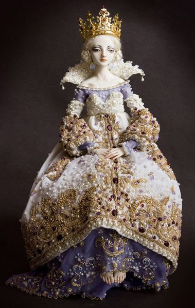 Marina Bychkova, Artist ~ The Other Woman, Porcelain Doll http://www.beautifullife.info/art-works/porcelain-beauties-by-marina-bychkova/