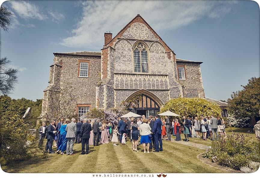 Wedding held at Butley Priory, Woodbridge 2016 - www.helloromance.co.uk