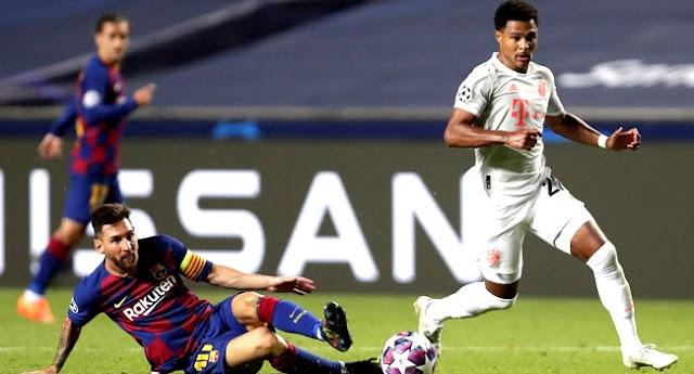 Ruthless Bayern thrash Barcelona 8-2 To Reach Champions League Semi-Final