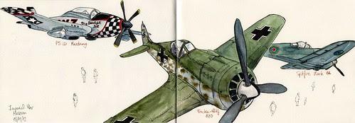 Aviones en el Imperial War Museum
