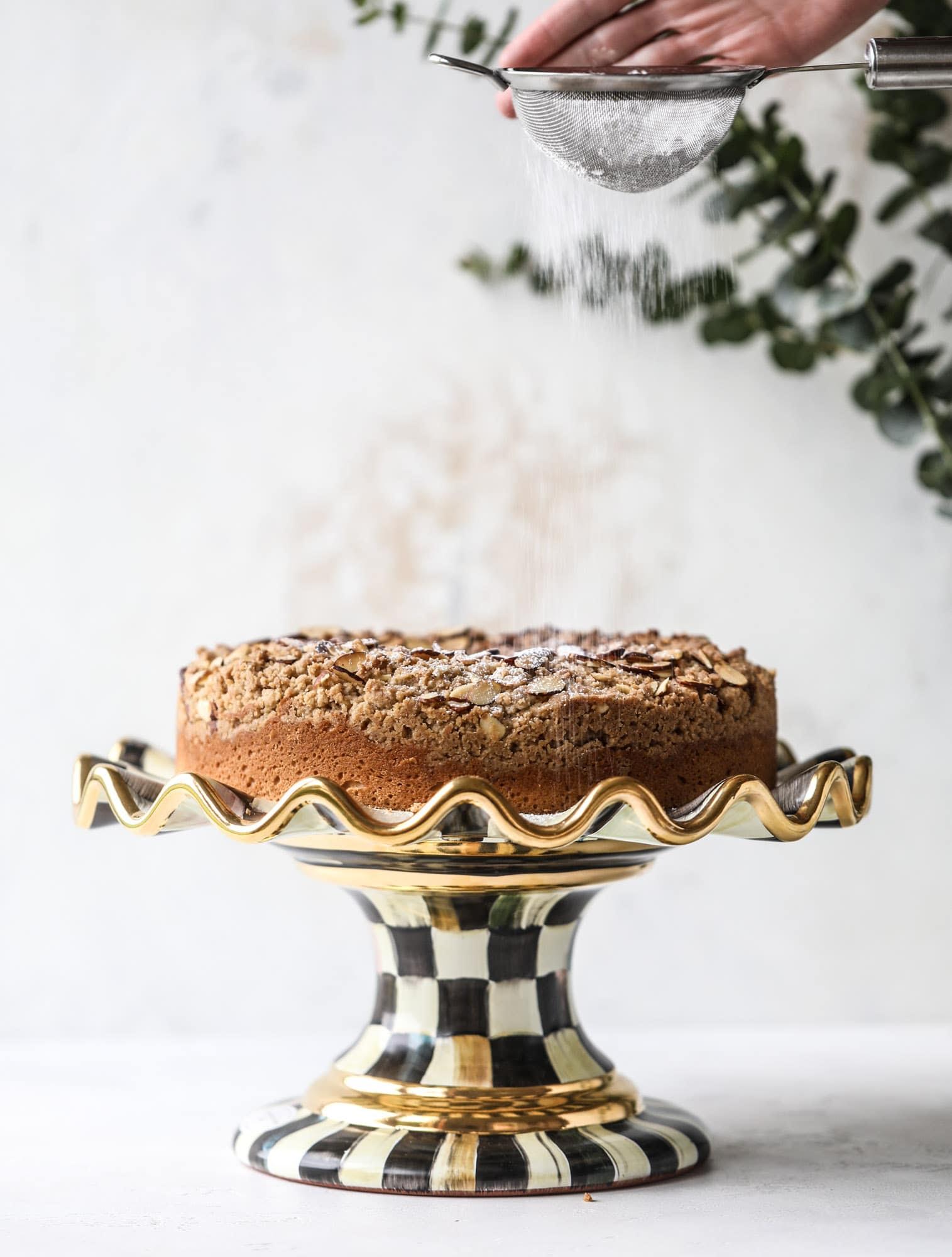 Almond Crumb Cake Almond Crumb Cake Recipe