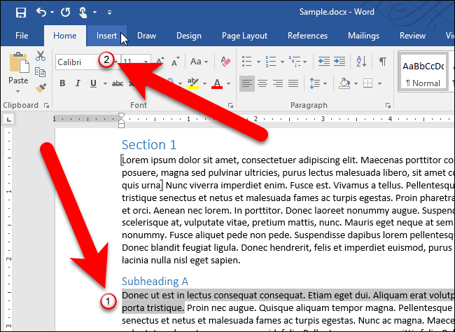 How to Reuse or Move a Bookmark in Microsoft Word